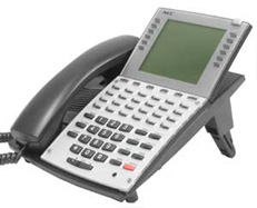 NEC 890049 Aspire 34-Button Hands-Free Large Display Speaker Phone