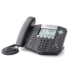 Used Polycom SoundPoint IP 550 SIP Phone 2200-12550-025