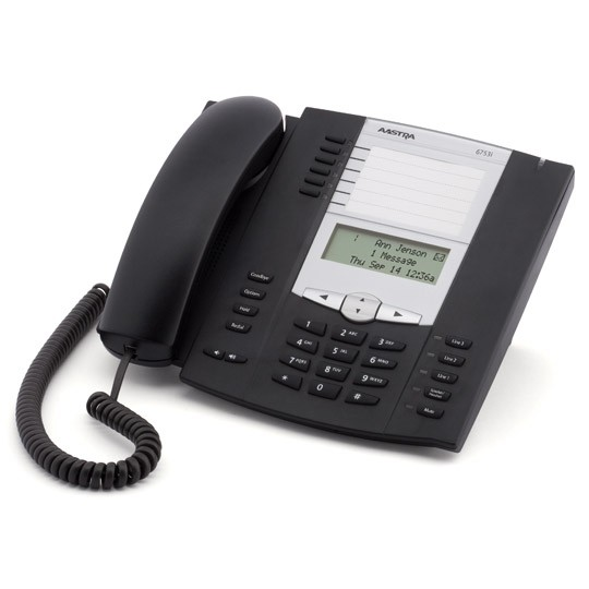 Used Aastra 6753i Expandable IP Telephone